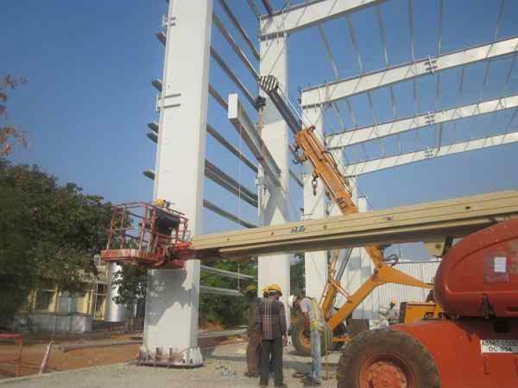 Construction of Warehouse and Office Building